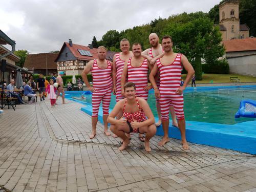 Unsere Wasserballmannschaft